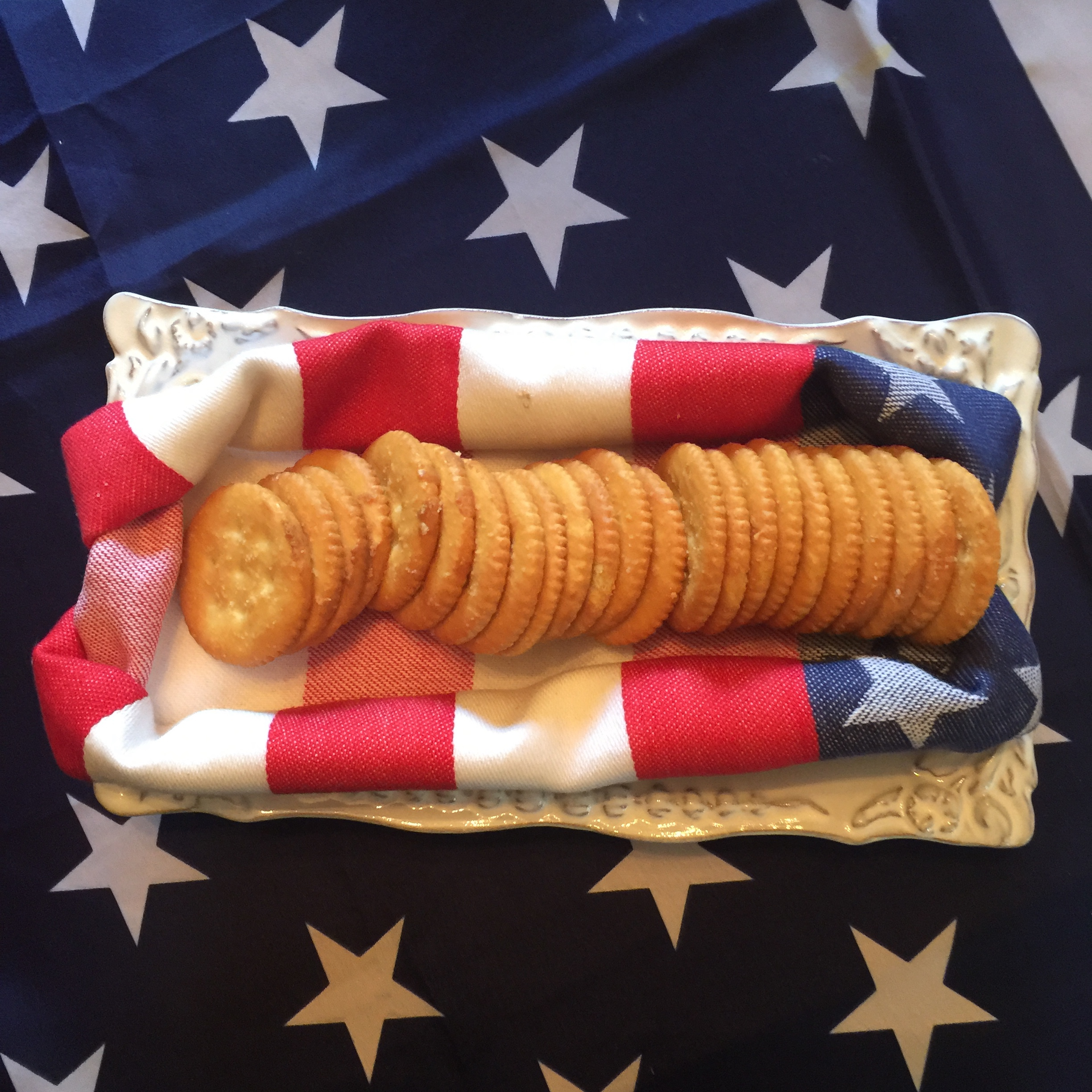 July 4th table setting – time to party!