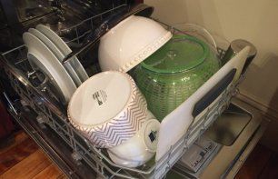 Bosch dishwasher loading bottom rack