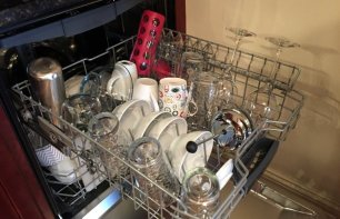 Bosch dishwasher loading middle rack