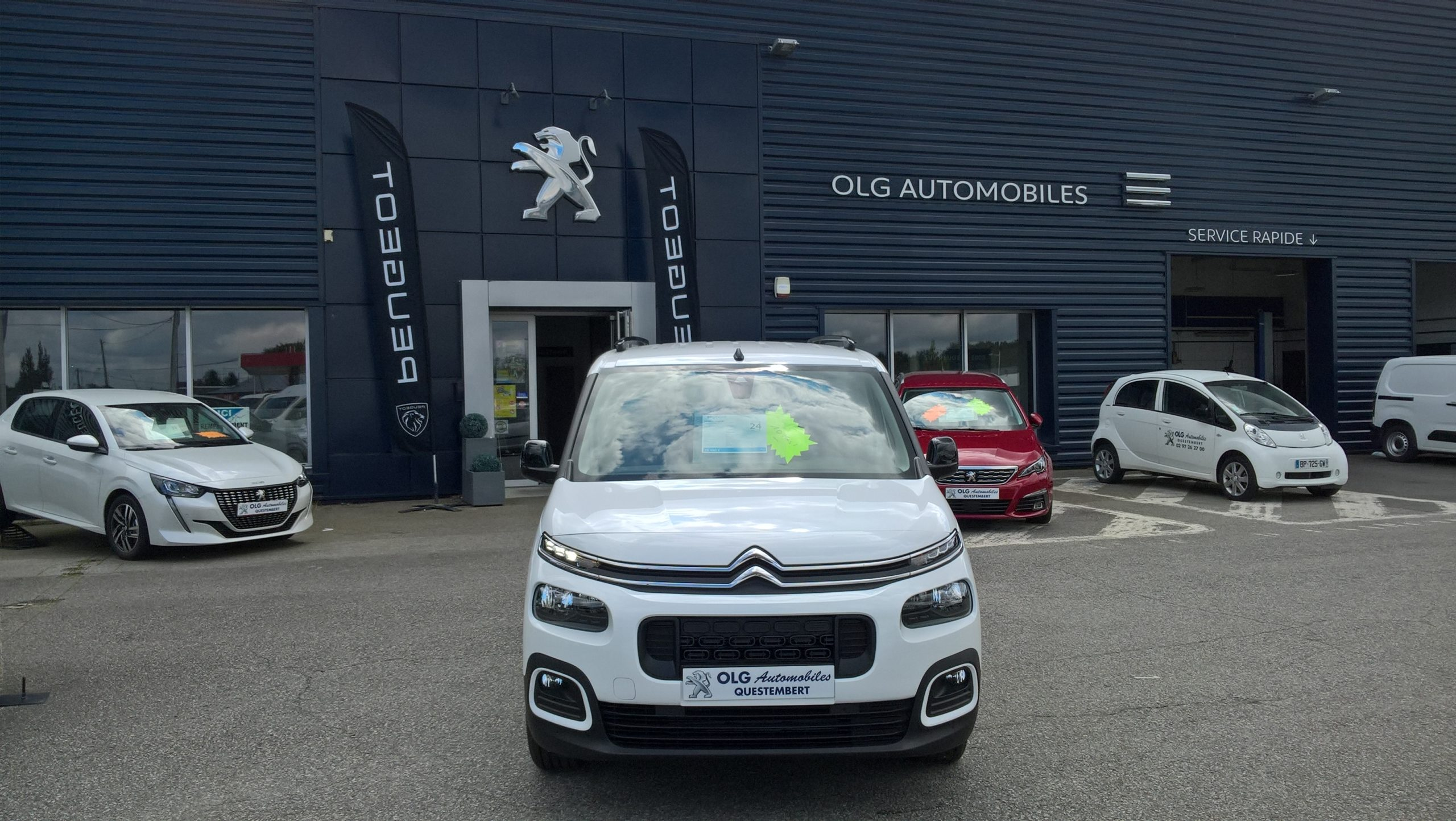 Read more about the article CITROEN Berlingo 10kms  25490€
