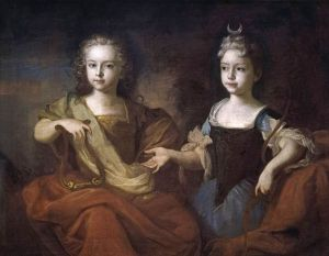 Petr_II_of_Russia_as_child_with_sister_Natalia_by_L.Caravaque_(1722,_Tretyakov_gallery)