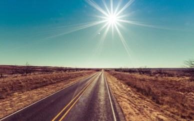 road-sun-sunshine-desert