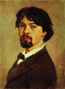 V.Surikov, Self-Portrait (1879, Tretyakov gallery)