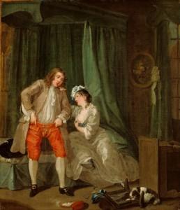 Живопись Уильям-Хогарт После-обольщения-1731