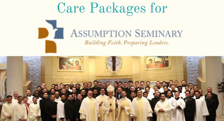 Care Packages for Assumption Seminary