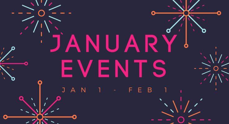 January Events 2021
