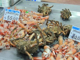 Langoustines and Crabs