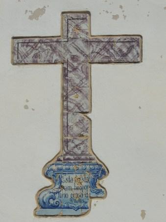 Close up of Chapel of Santa Ana