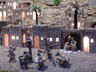 Close up in Mary's village