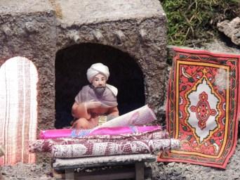 Carpet seller
