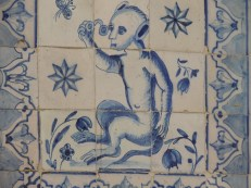 Tiles at lunch