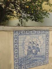 Tiles in alleys