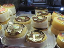 Award winning sheep's cheese