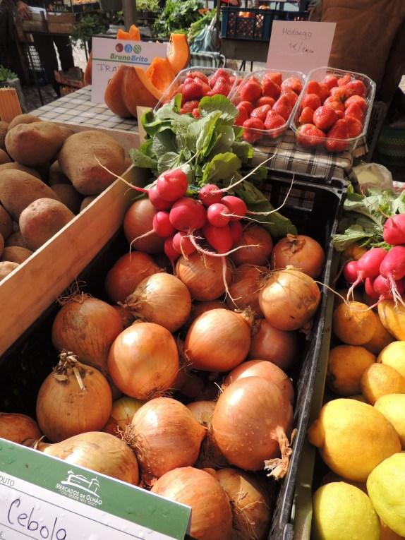 Silvia's produce in May