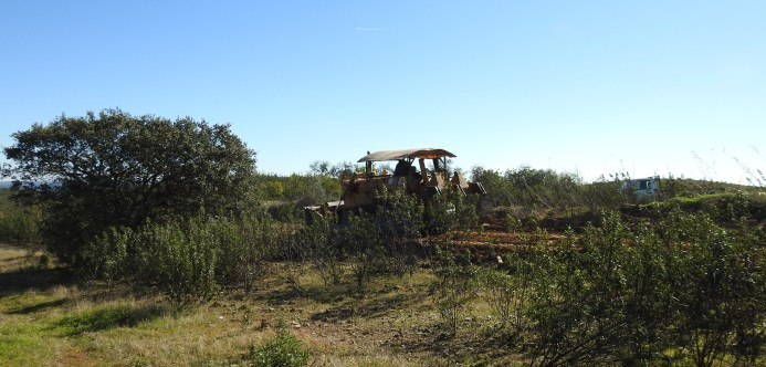 Rural road creation