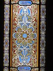 Glass in close-up