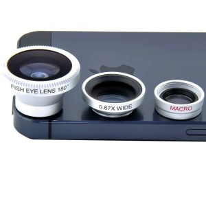 Kit lentes smartphone