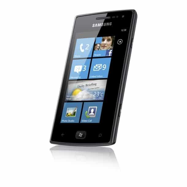 Omnia W Samsung com Windows Phone Mango