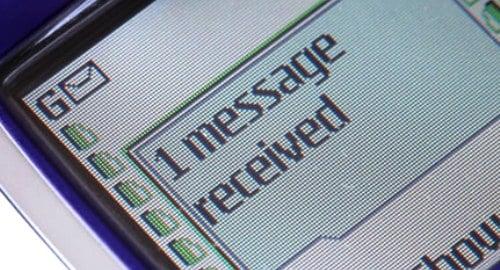 SMS - Mensagem de Texto