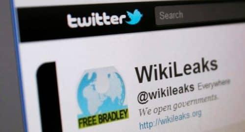 Twitter WikiLeaks