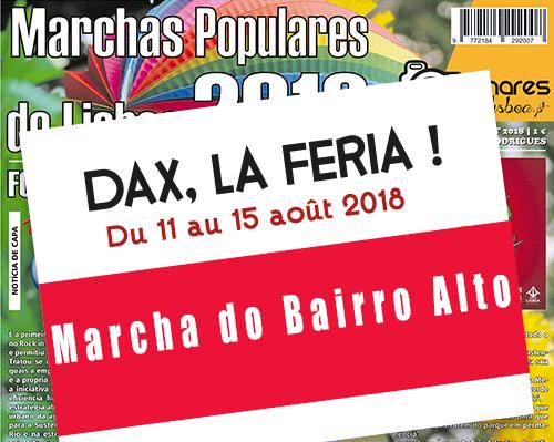 MARCHA DO BAIRRO ALTO | Marchantes a caminho de França