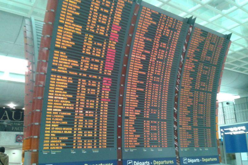 O voo mudou e fui parar no país errado