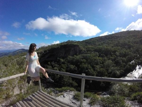 Ponte de Pedras no Circuito da Janela do Céu em Ibitipoca