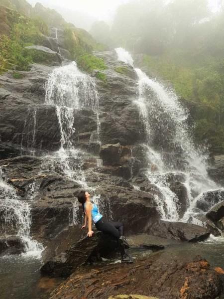 Cachoeira da Fumaça na Trilha da Ferradura em Paranapiacaba SP
