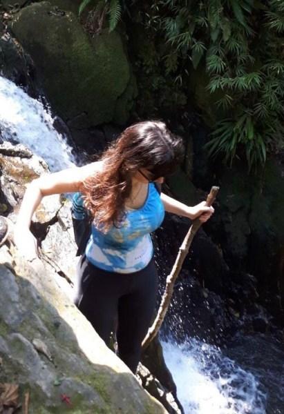 Cachoeira na Trilha da Ferradura Paranapiacaba SP
