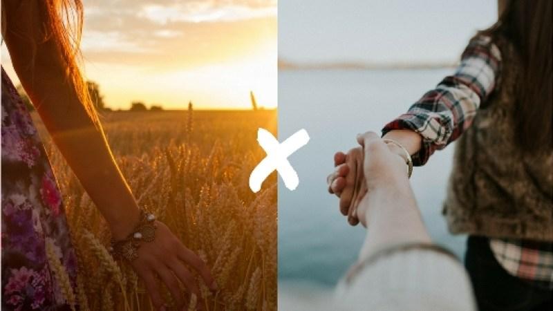 Diferenças entre Viajar solteiro x Viajar namorando: os dois tem dois boas e coisas ruins