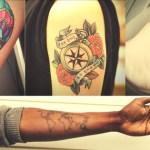 14 estilos de tatuagens de viagem para você se inspirar