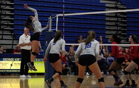 Lady Patriots serve up a win against Westerville South