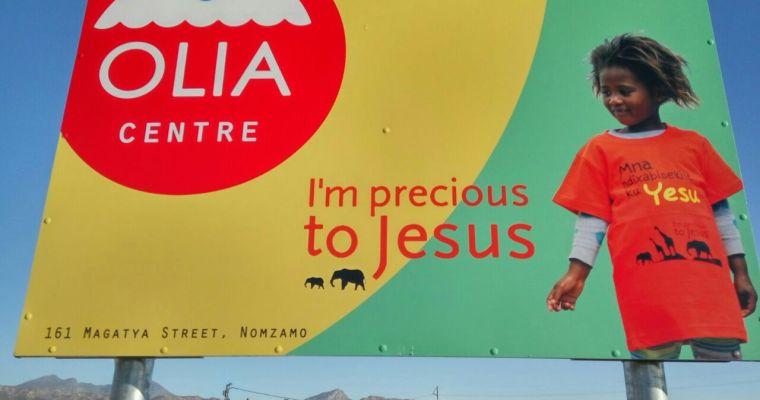 올리아 센터 – 그들이 예수님께 희망할수 있도록