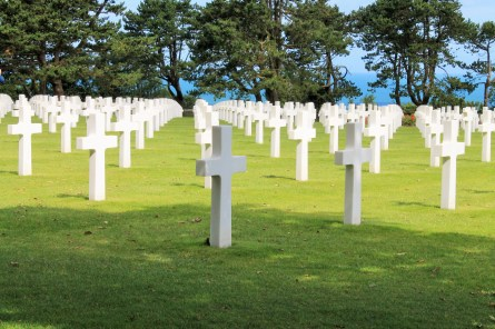 Normandy American Military Cemetery, Colleville-sur-Mer, France