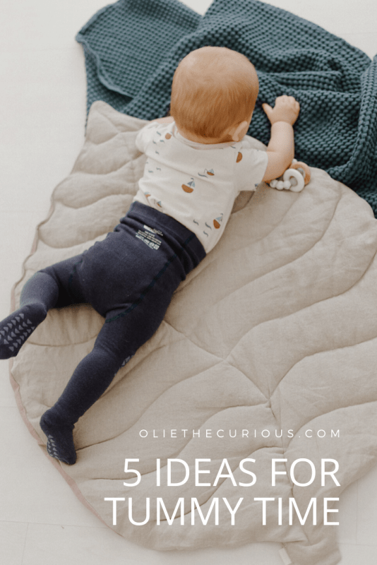 5 ideas for tummy time⁠