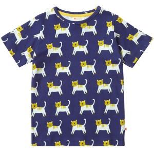 shirt van organisch katoen met tijgers