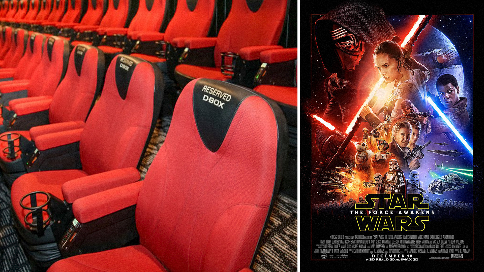 Star Wars : The Force Awaken - D-Box