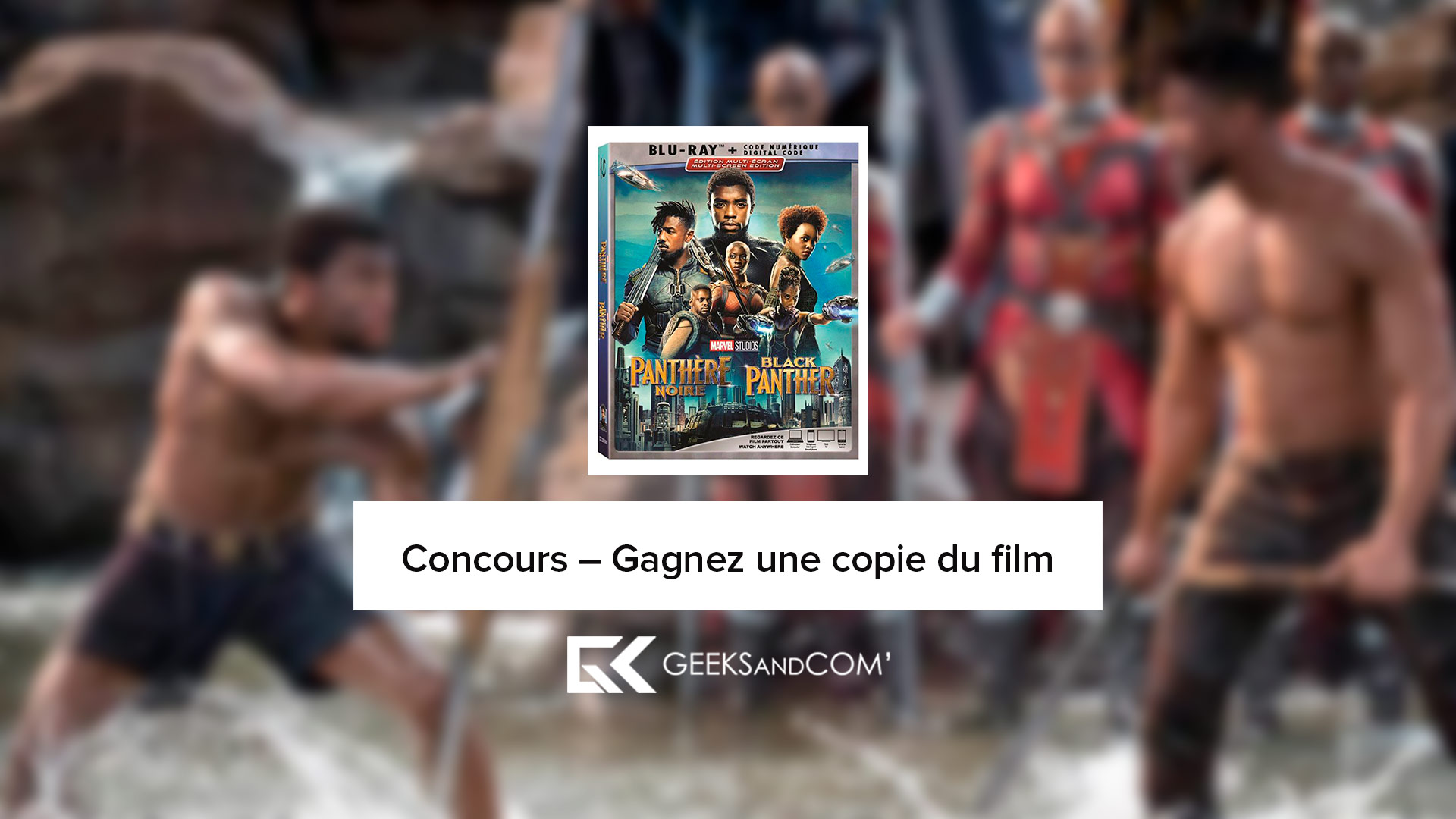 Black Panther - Concours