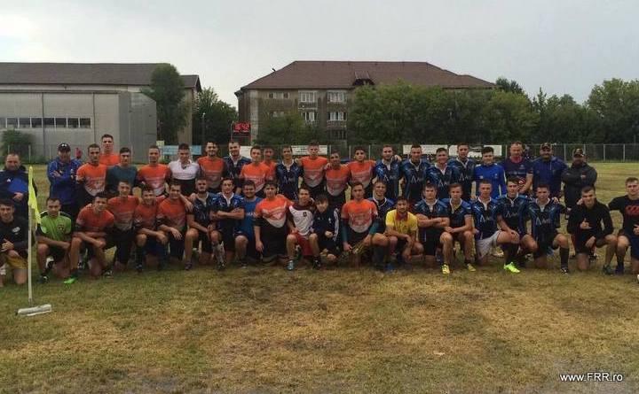 U182 - Cvintet de rugbyști la naționala U18