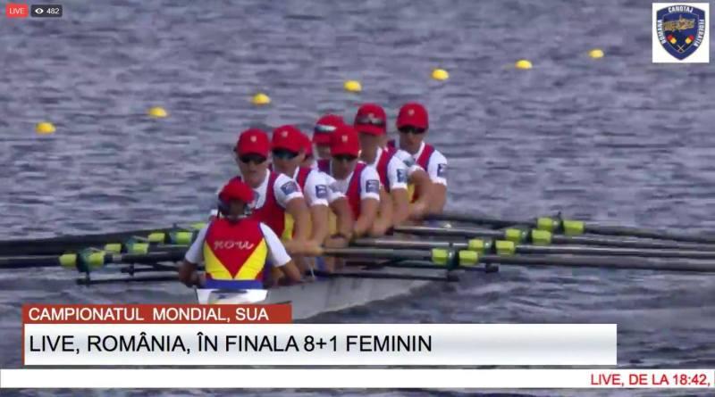sua - România campioană mondială la canotaj