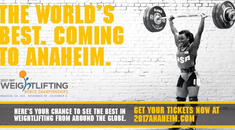 anaheim 1 - Patru halterofile la Campionatele Mondiale