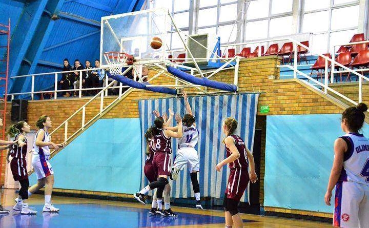 olimpiau18 - Baschetbalistele U18 au obținut încă un succes
