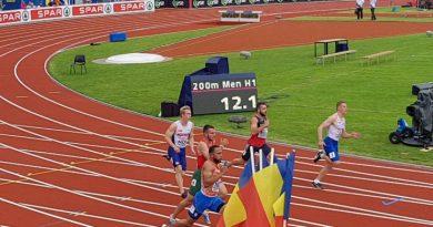 Maria Mihalache season best la Campionatul European