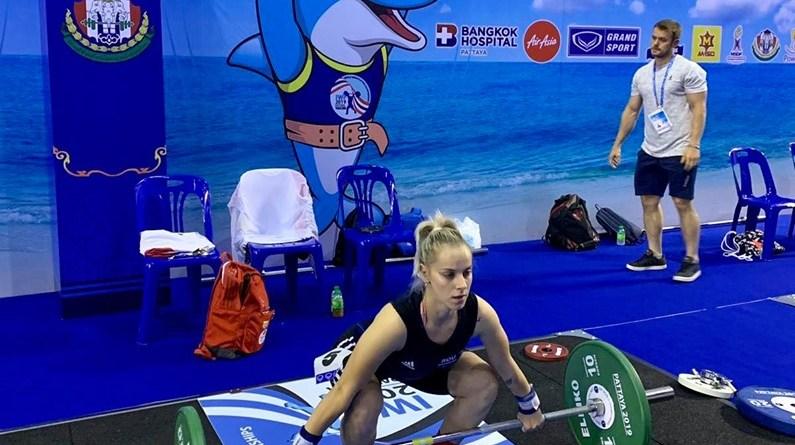 pat - Elena Andrieș a evoluat la Campionatele Mondiale