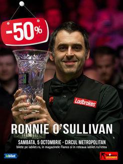 "ronnie - Ronnie O""Sullivan la București"