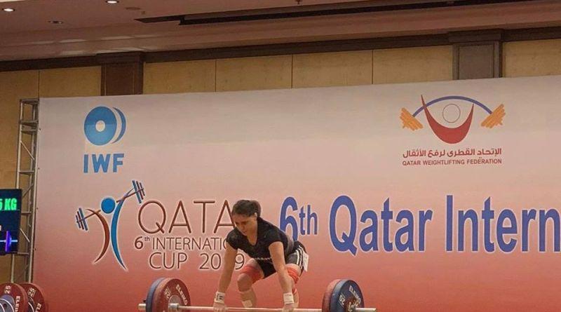 qatar - Irina Lepșa trei medalii în Qatar