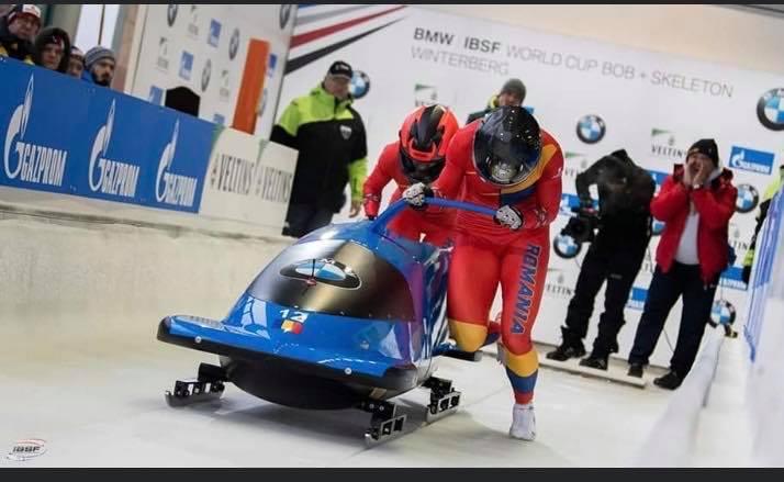 bobsteauaolimpia - Rezultate bune pentru boberi la Campionatele Mondiale de juniori