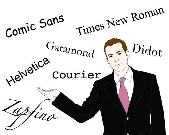 best amp worst fonts for resumes olin blog
