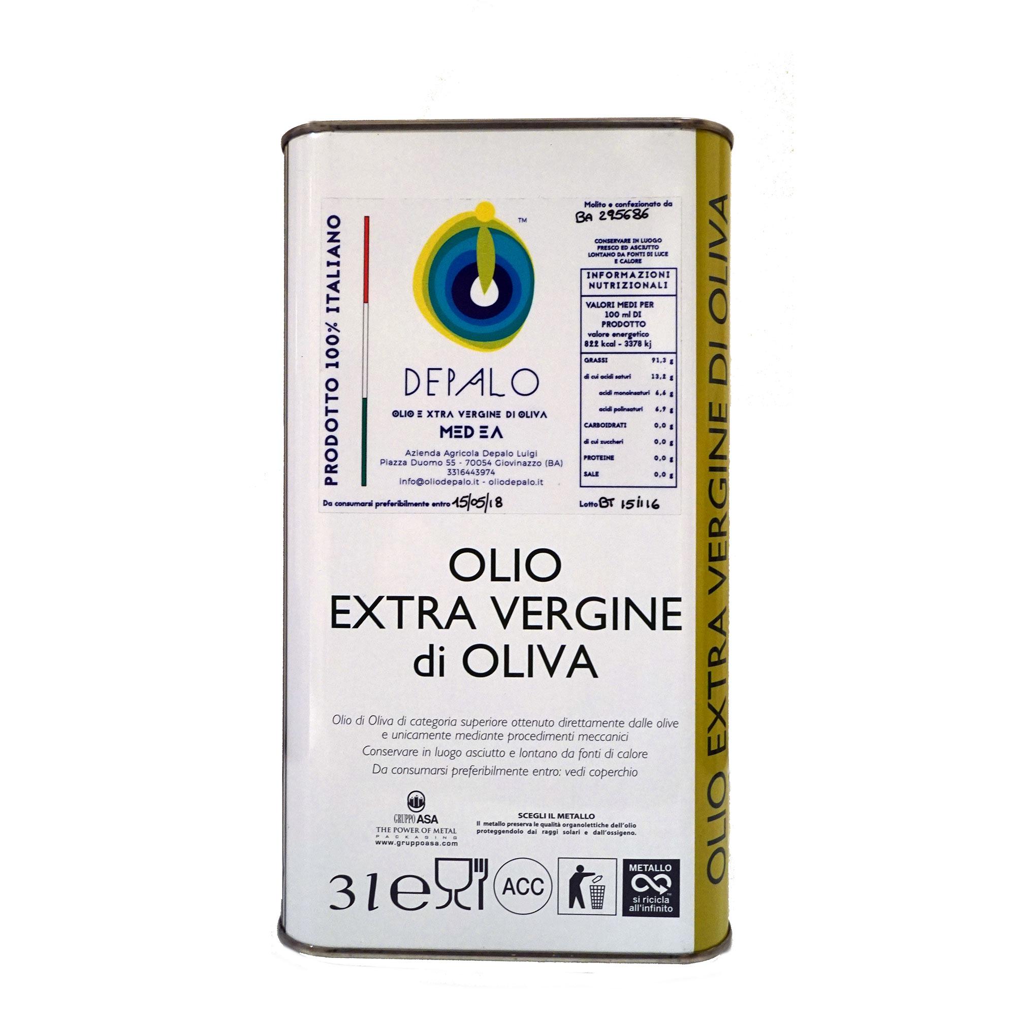 medea lattina olio extravergine di oliva depalo puglia