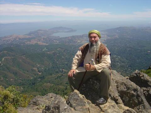 Sheykh on Mt. Tamalpais, California